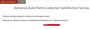 Auto Parts Guest Feedback Survey