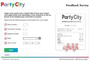 Party City Survey