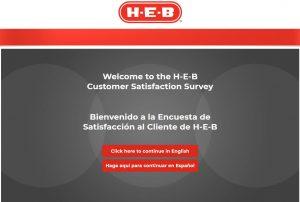 HEB Customer Survey