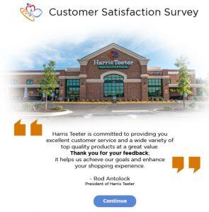 Harries  Teeter Customer Satisfaction Survey