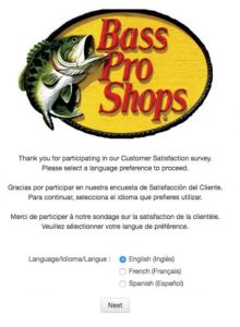 Bass Pro Customer Survey