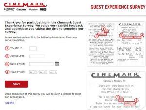 Cinemark Guest Experience Survey