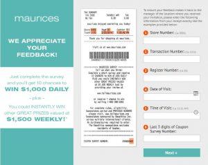 Maurices Customer Survey