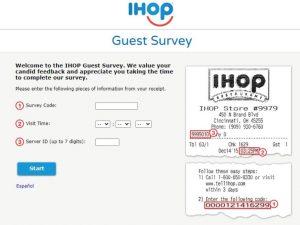 www.talktoihop.com survey
