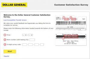 Dollar General Customer Survey